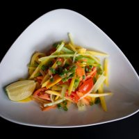 Papaya Mango salad11